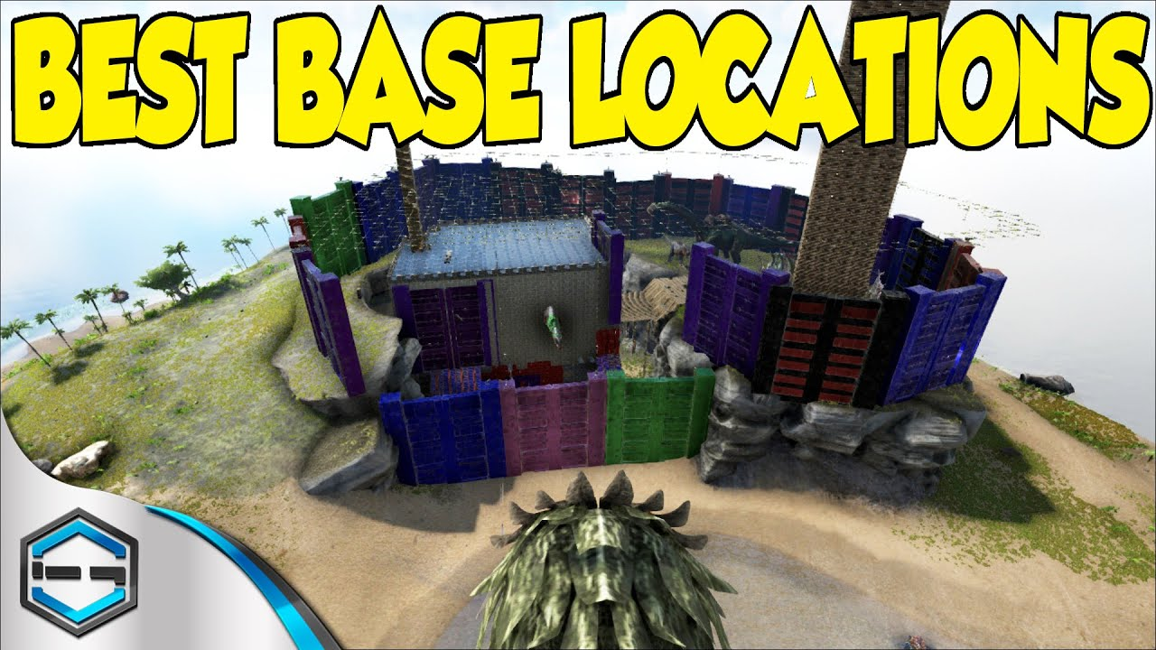Charming Ark Survival Evolved Best Base Locations Ep. 20   YouTube