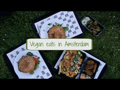 Vegan Places To Eat In Amsterdam | Mimi Vlogs #11