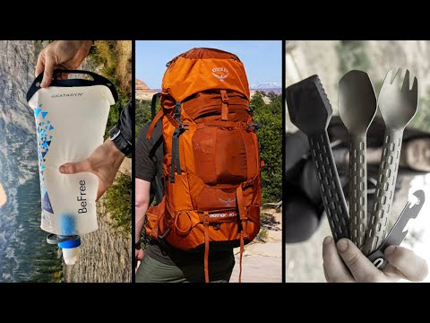 TOP 10 Best Backpacking Gear & Gadgets On Amazon 2019 2020
