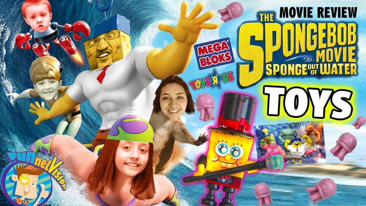 Download Sky Kids build Toys R Us Exclusive Spongebob Mega Bloks Figures + Sponge Out of Water Movie Review