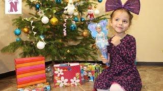 Новогодние подарки для Насти от Деда Мороза С НОВЫМ ГОДОМ Christmas gifts 2017