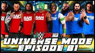 WWE 2K18 | Universe Mode - 'SURVIVOR SERIES PPV!' (PART 3/3) | #81