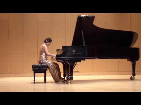 2016-2017 Winner of  The American Prize in Piano Performance (Solo) - Eunsun So(MSU)