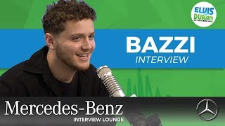 Bazzi Shares Excitement for Our iHeartRadio Jingle Ball | Elvis Duran Show