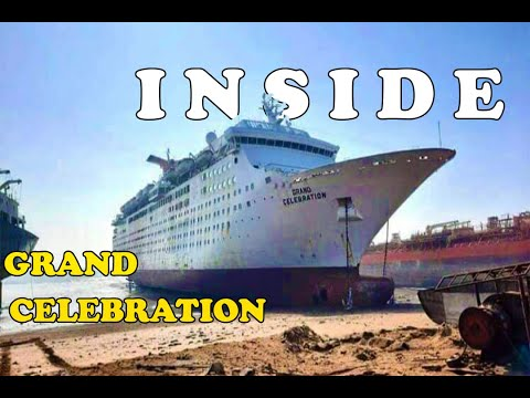 Inside GRAND CELEBRATION at Alang Ship Breaking Yard