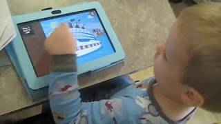 Solving Puzzles on Kindle Fire Tablet
