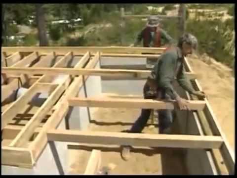видео: Каркасный дом своими руками Часть 1