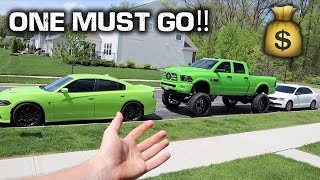 FORCED TO GET RID OF ONE OF MY CARS!!!