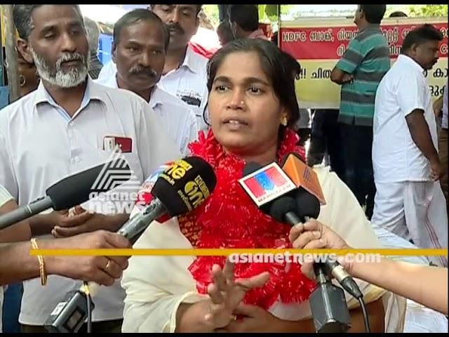 Preetha Shaji starts hunger strike against House attachment