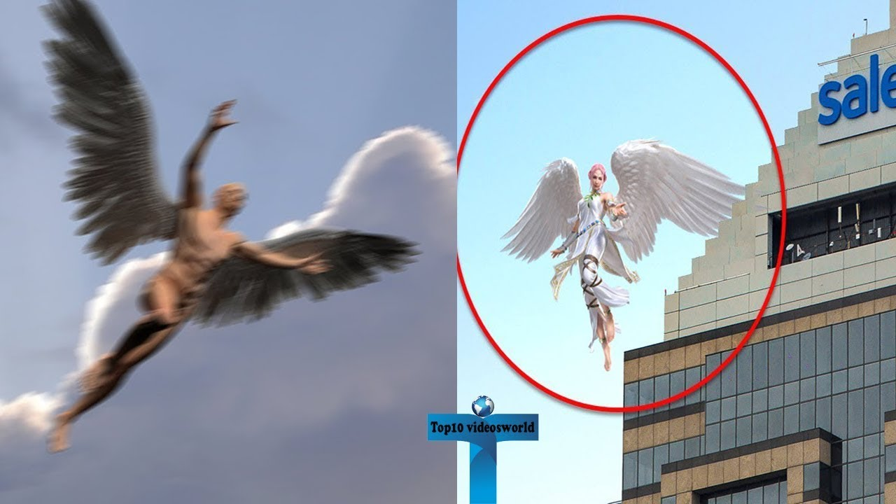 Download Top 10 Angels Caught On Camera Flying & Spotted In Real Life