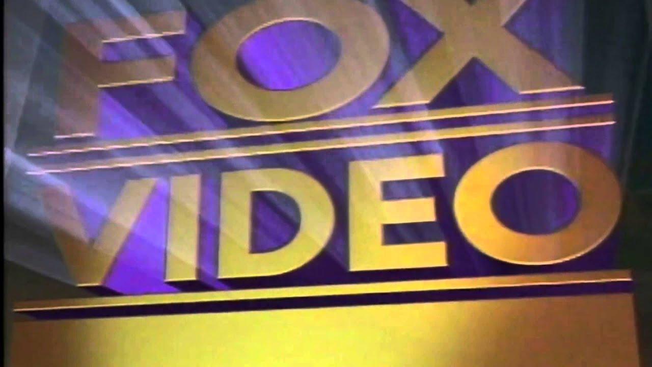 Fox Video 1993 Widescreen Youtube
