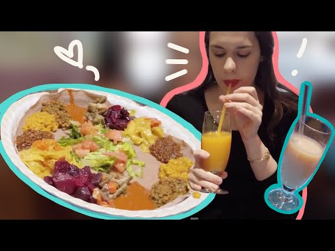 PSA: Ethiopian Food is Very VEGAN-FRIENDLY | Visit to Lalibela Toronto