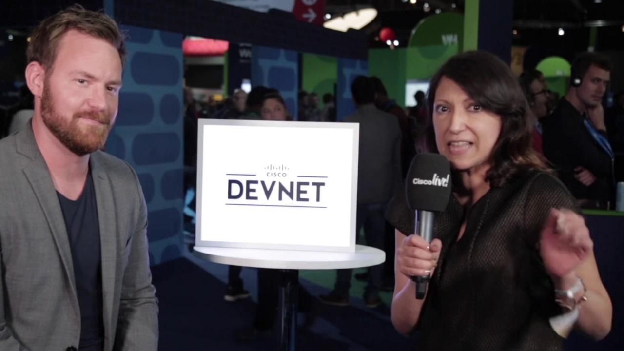 Miradot blir intervjuade på Cisco Live