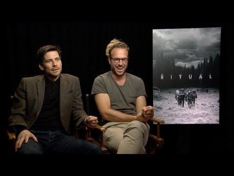 Rafe Spall & Robert JamesCollier  The Ritual
