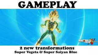 MEGA PACK GAMEPLAY : ★ Vegeta / Super Vegeta / Super Saiyan Blue ★ ◄► Dragon Ball Xenoverse MOD