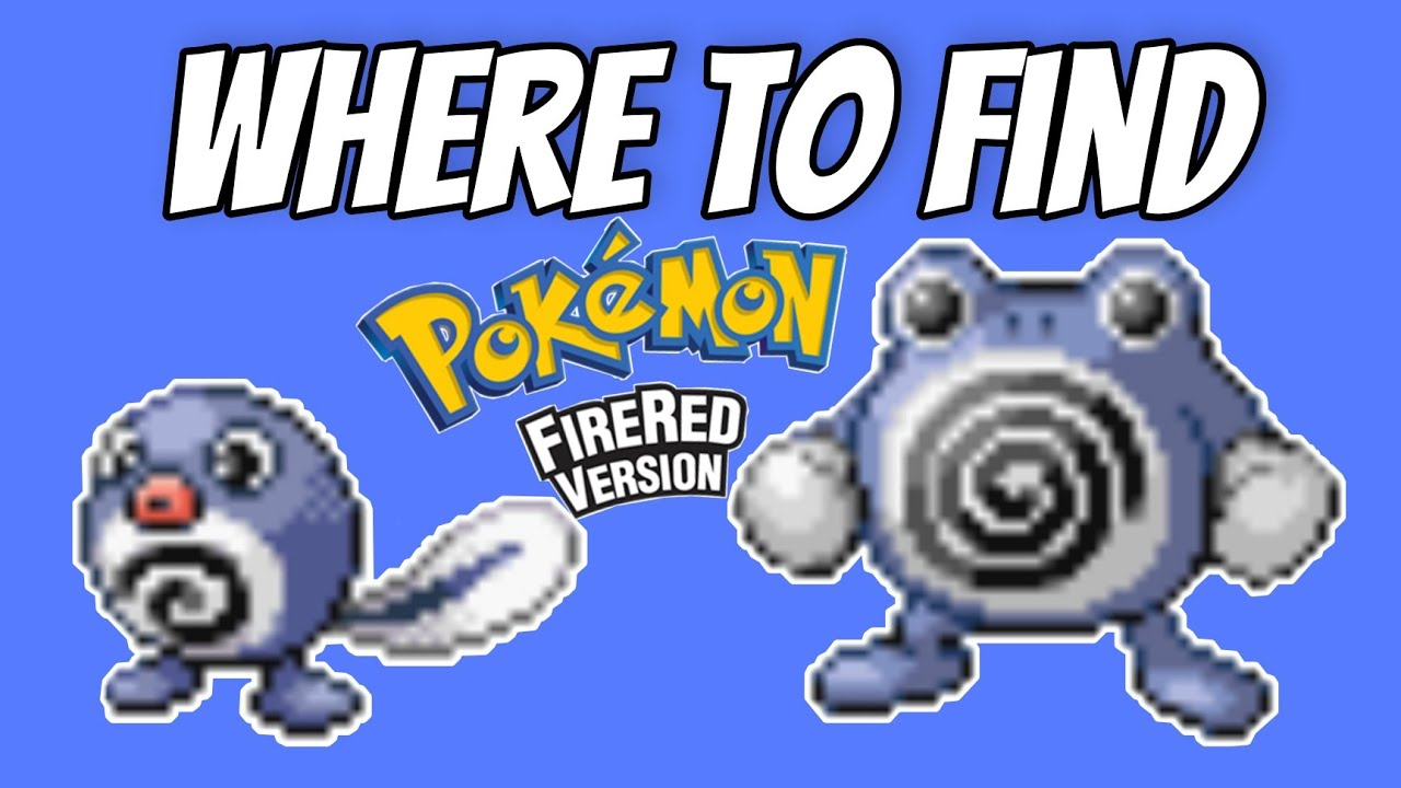 how to catch poliwag in red