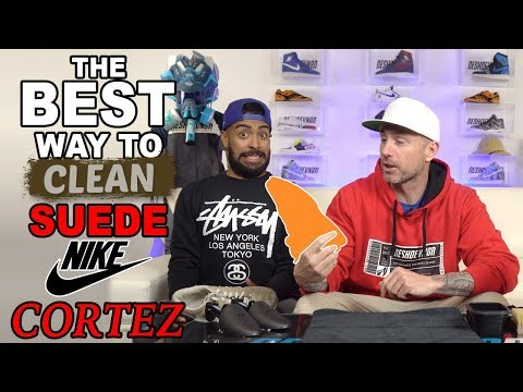 How to clean suede on Nike Cortez Jewel
