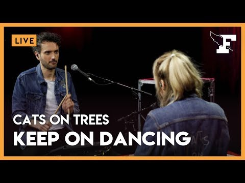 "Cats On Trees - ""Keep On Dancing"" dans la session Figaro Live Musique"