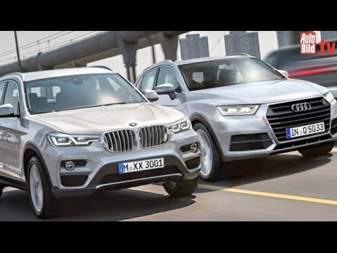 Suv Bmw X3 2017 Vs Audi Q5 2016 Youtube