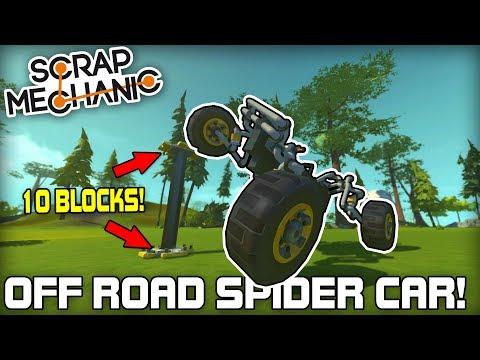 Ultimate Off Road Pendulum Car Suspension! (Scrap Mechanic #173)