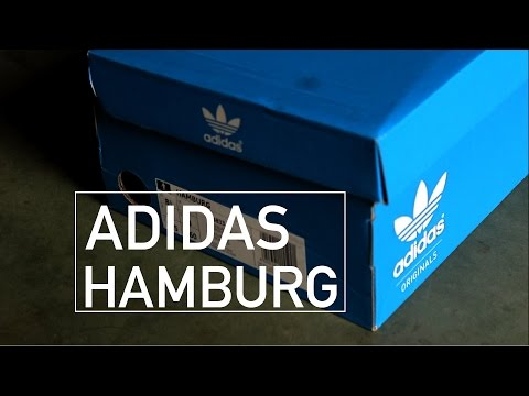 ADIDAS HAMBURG CORE BLACK || VISUAL REVIEW