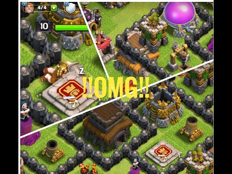 INSANE GLITCHES IN CLASH OF CLANS! LATEST JULY 2018