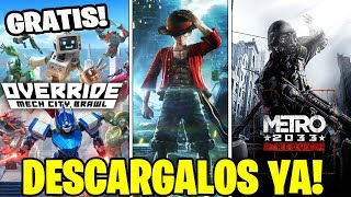 ¡¡¡DESCARGALOS GRATIS!!! JUEGOS GRATIS PARA XBOX ONE & PS4 🏆