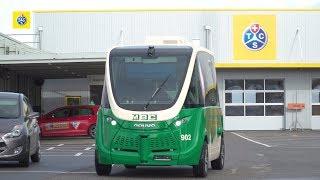 Omologazione due autobus a guida autonoma