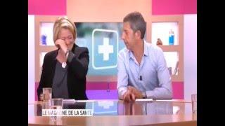 Fou rire Marina Carrère d'Encausse à propos de momies ... Magazine de la Santé