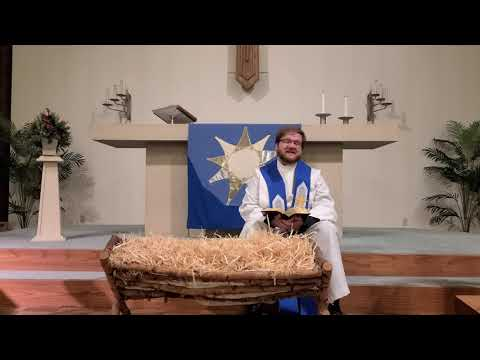 Advent preparation for Christmas Chapel for Trinity First Lutheran School