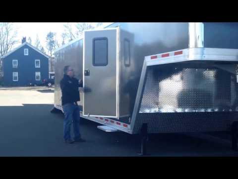 ATC Quest 40' Gooseneck Enclosed Car Hauler