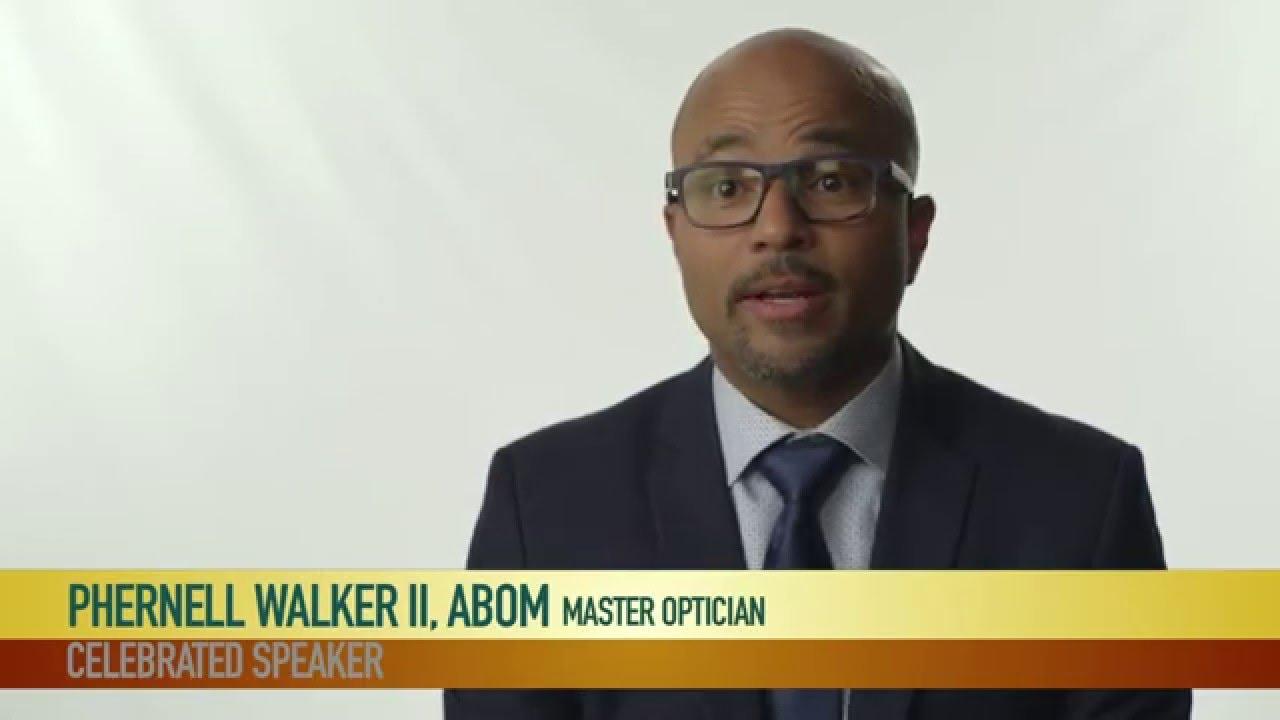 Download Celebrated Speaker:  Phernell Walker II, ABOM