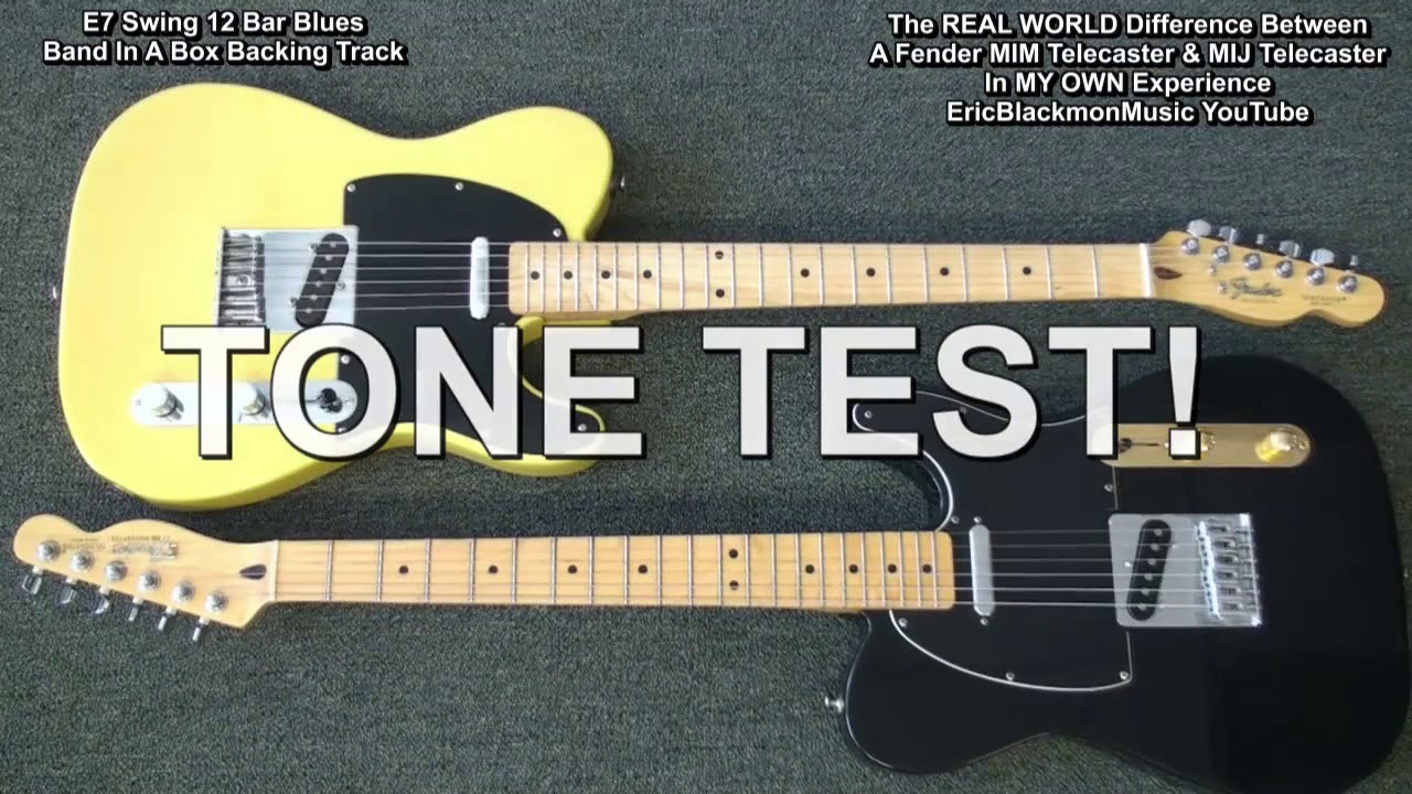my mim mexico vs mij japan fender telecaster guitar comparison in my
