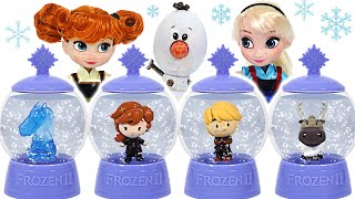 Frozen2 Elsa&Anna! Olaf's gift what's in a snowball?   PinkyPopTOY