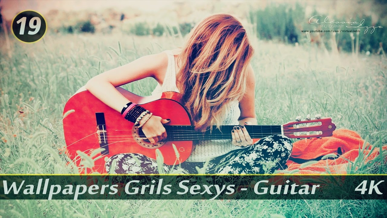 19º pack wallpapers girls elegance - guitar 4k ultra hd