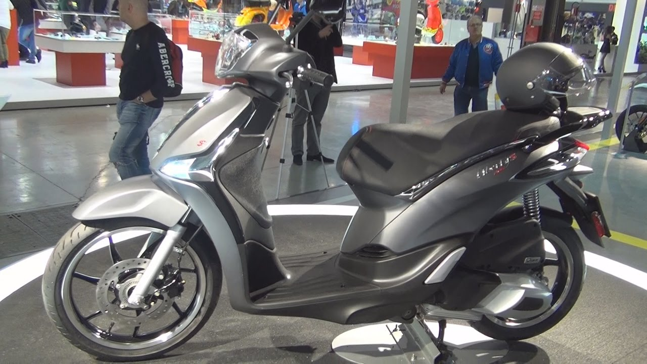 piaggio new liberty s 150 (2017) exterior and interior in 3d - youtube