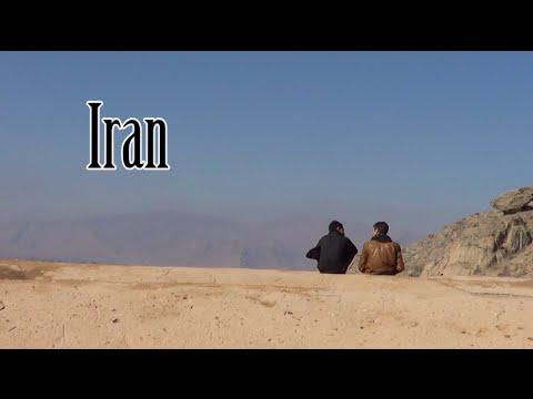 Backpackers Hitchhiking - Iran