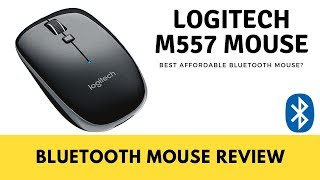 logitech M557 Bluetooth Mouse Wireless Mouse Review - The BEST Affordable Bluetooth Mouse Available