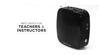 Best Classroom Voice Amplifier for Teachers, Trainers, Instructors, Life Coaches