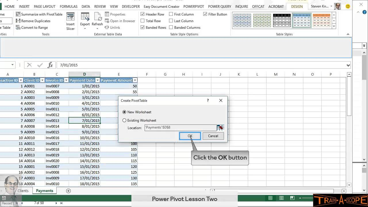 Power Pivot - Group by Date (and sort by Month) in 8 minutes