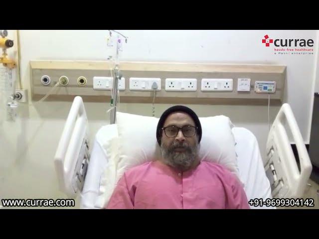 Mr. Surendra Pal Singh   Knee Replacement   Dr. Bakul Arora   Currae Hospitals