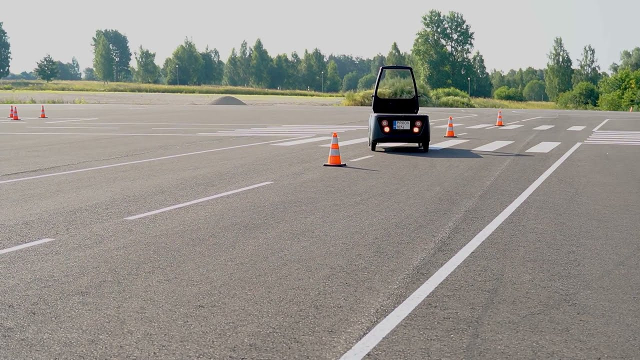 World's first driving exams with a driverless semi-autonomous vehicle