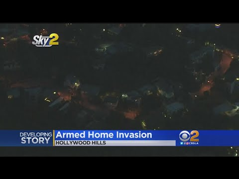 Armed Home Invasion In Hollywood Hills