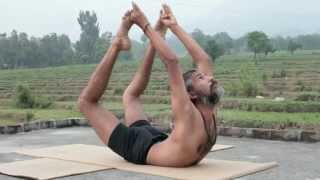 Advanced Traditional Hatha Yoga with Babu Raj. Flexibility & Strength from the Himalayas, India
