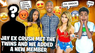 JAY EX CRUSH FINALLY MET THE TWINS & WE ADDED A NEW MEMBER!