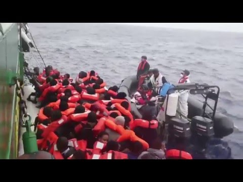 Search and Rescue Operations Resume in the Mediterranean