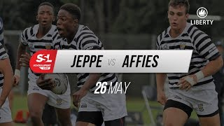 Jeppe 1st XV vs Affies 1st XV, 26 May 2018