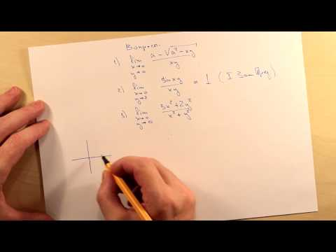 Предел функции двух переменных. Ответыиз YouTube · Длительность: 3 мин56 с