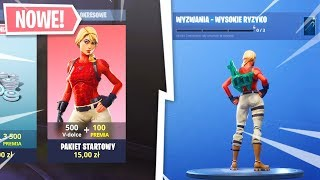 New CHALLENGES and FREE SKINS! New STARTER PACK.. Fortnite