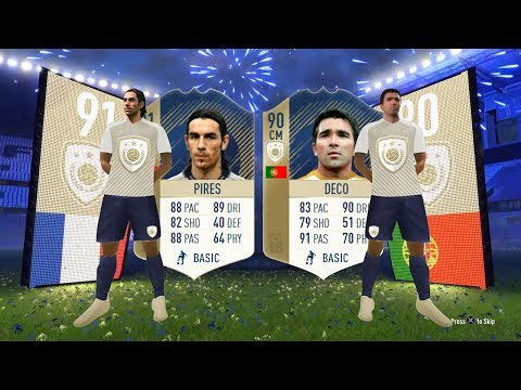 CHEAP PRIME ICON SBC! (COMPLETE) 91 Pires, 90 Deco